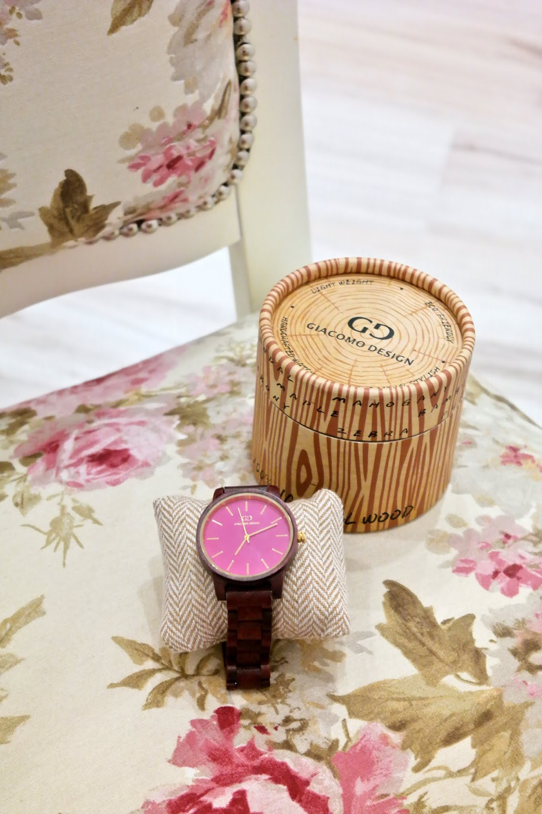 zegarek zrobiony ręcznie
