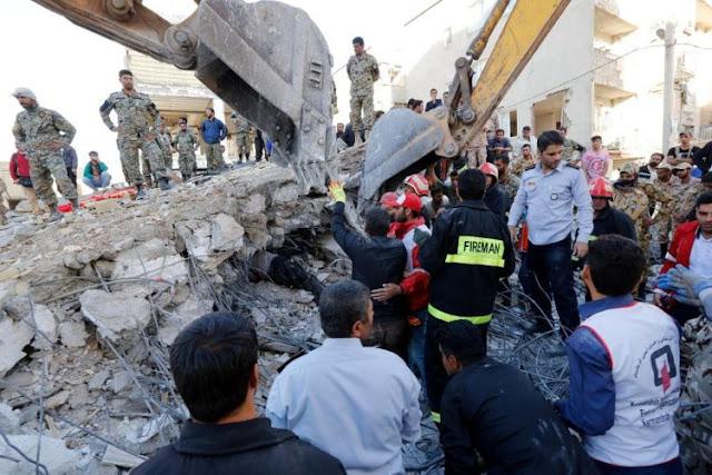 Terremoto en frontera entre Irak e Irán deja más de 400 muertos