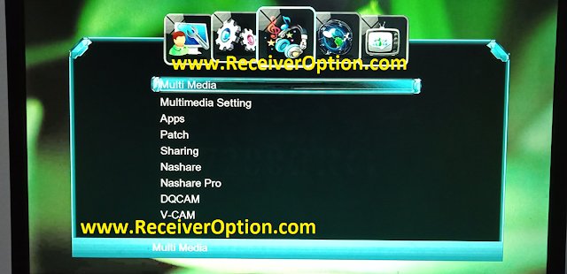 MAGNUM 7200 PRO 1506LV 1G 8M NEW SOFTWARE WITH ECAST & NASHARE PRO OPTION