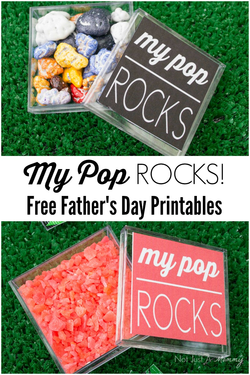 My Pop Rocks! Free Printable