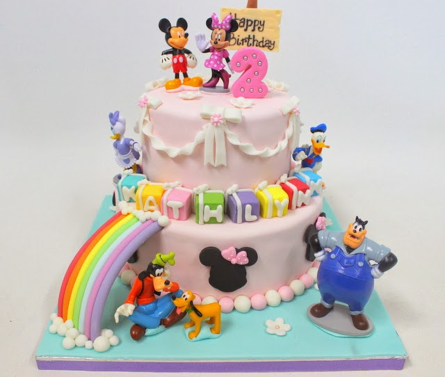 The Sensational Cakes Colorful Pastel Rainbow Theme
