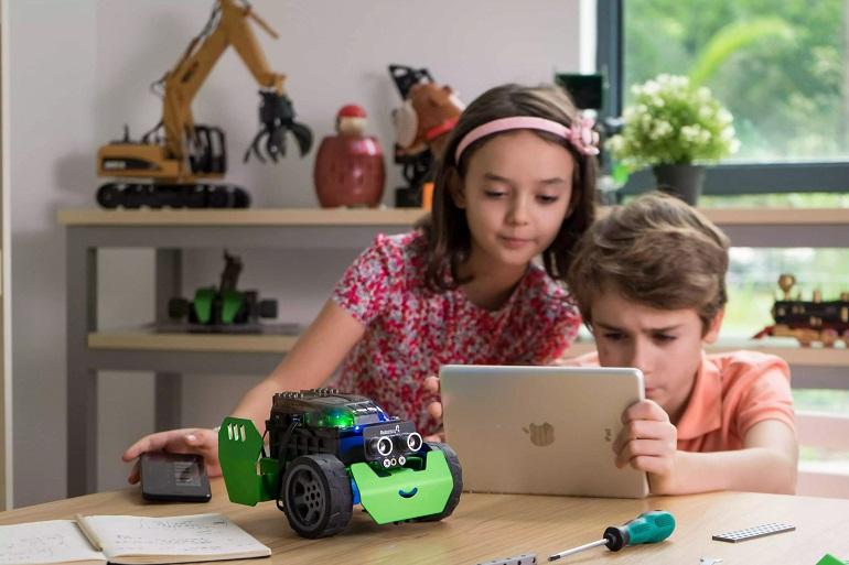 Cómo ayuda la robótica en la educación de los niños
