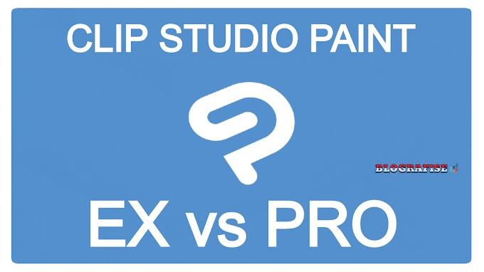 Perbedaan Manga Studio / Clip Studio Paint versi EX dan PRO