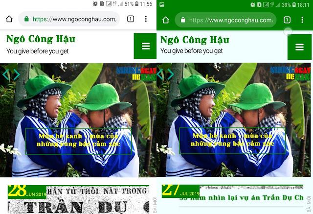 Thủ thuật thay đổi màu sắc trên Tab-bar trình duyệt website