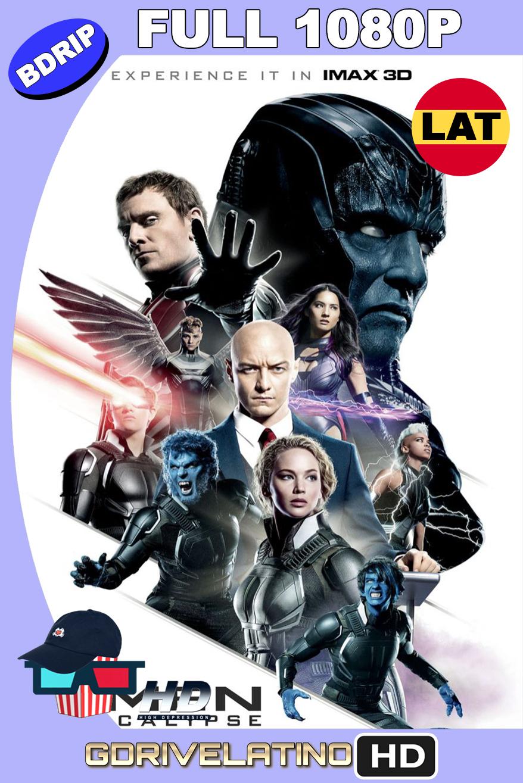 X-Men : Apocalipsis (2016) BDRip 1080p Latino-Ingles MKV