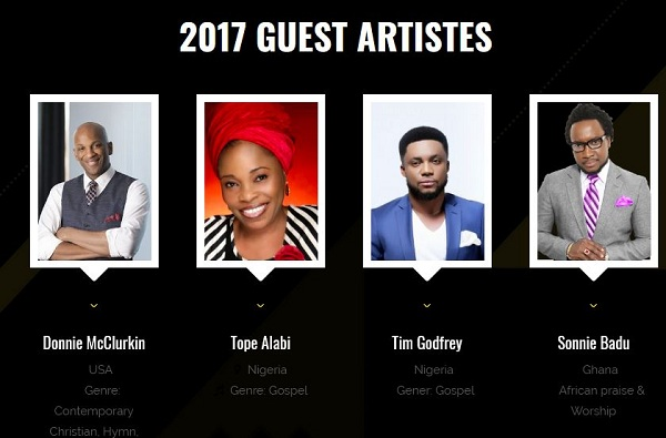 Lagos Experience Music Concert 2017- December 1, 2017