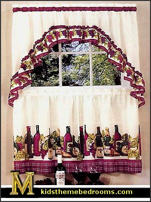 Italian Themed Kitchen Curtains Backsplash Design Ideas Decorating Theme Bedrooms - Maries Manor: Tuscan ...
