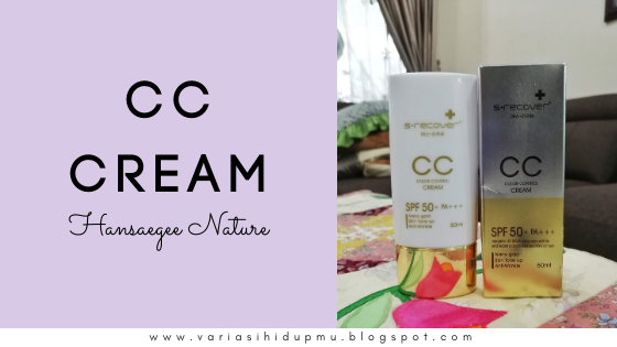 cc cream hansaegee nature