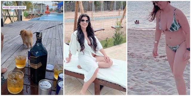 Farra em Barra Grande: Vereadora de Teresina curte praia desde quinta-feira (17)