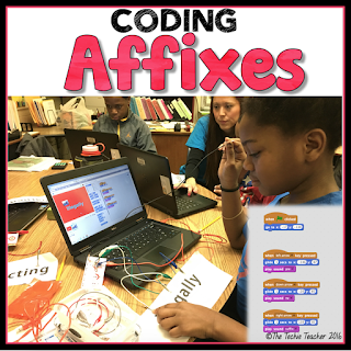 Coding AFFIXES with the MaKey MaKey and Scratch