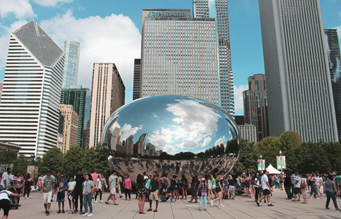 Cloud Gate Bean Chicago Millennium Park