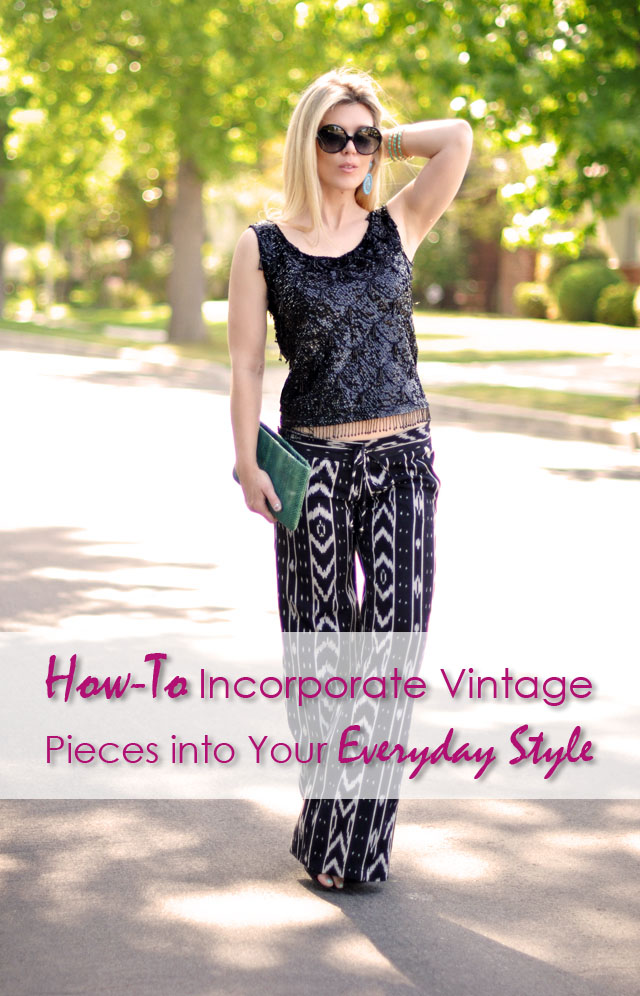 How to incorporate vintage pieces into your everyday style