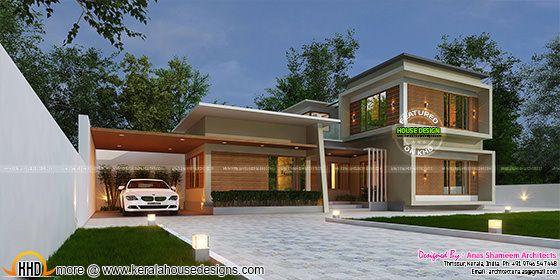 True contemporary home