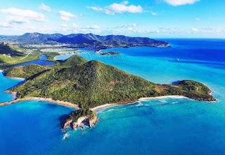 Vẻ đẹp thiên nhiên tại quốc đảo Antigua và Barbuda