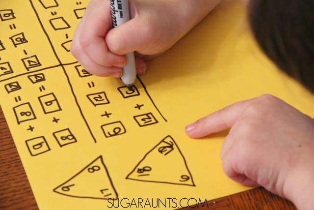 How to compose and decompose numbers in first grade math