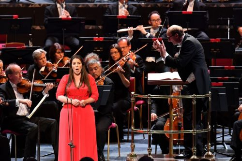 Prom 74 - NDR Radiophilharmonie, Andrew Manze, Elizabeth Watts - BBC Proms (Photo Chris Christodoulou / BBC)