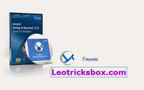 PC Software : Acronis Backup Advanced 11.5.38774 with Universal Restore + Crack