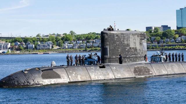 El HMCS Windsor regreso a puerto por problemas de baterias en las pruebas de mar