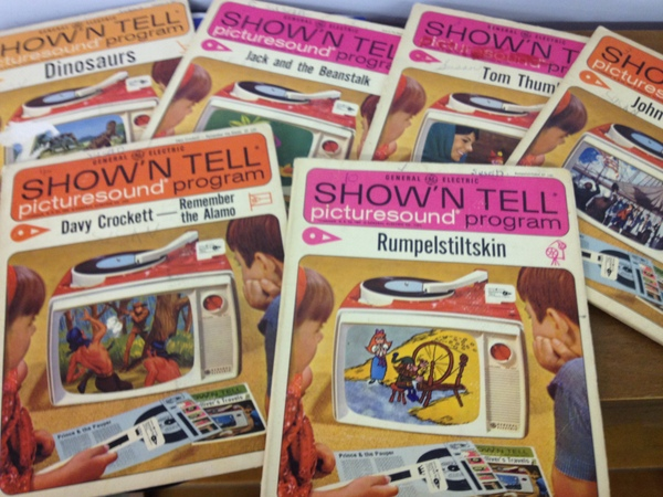 SHOW'N TELL picturesound books