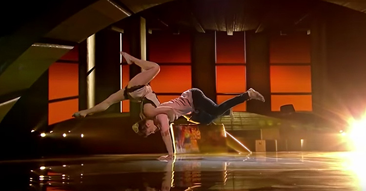 The breathtaking performance of Ian and Natashca.