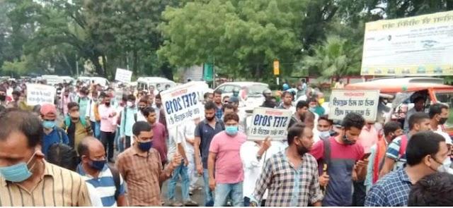Bihar News: शिक्षा मंत्री के आवास पर प्रदर्शन कर रहे STET अभ्यर्थियों पर लाठीचार्ज, कई घायल