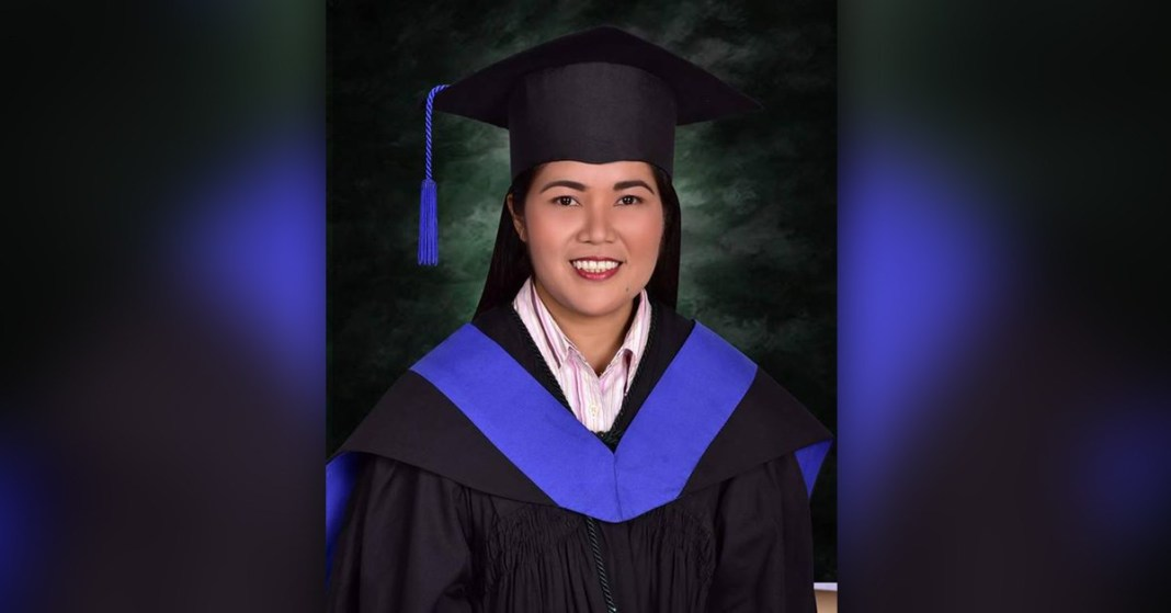 woman is first of Palawan Tau't Bato tribe to graduate from university