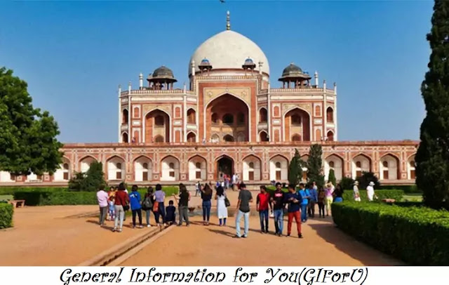 Humayun's Tomb-Best Tourist Places to Visit in Delhi India-GIforU
