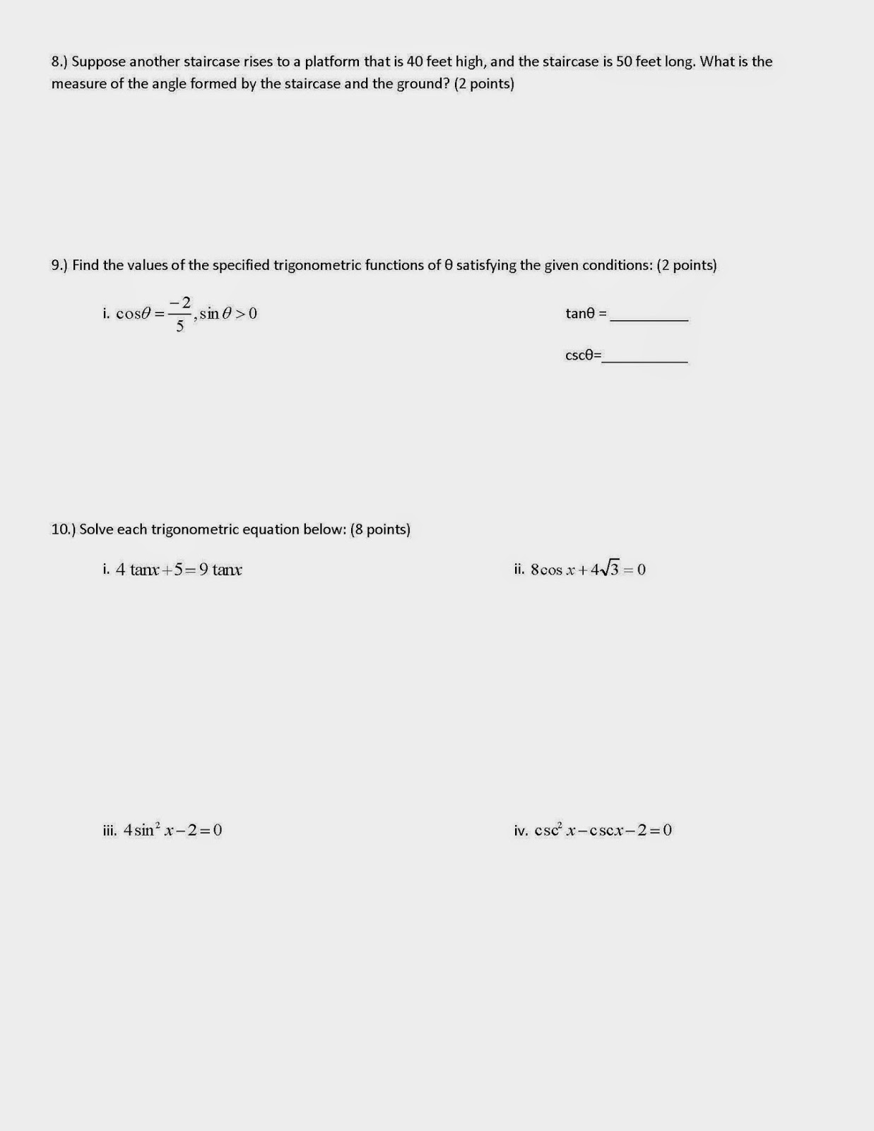 Worksheet Verifying Trigonometric Identities Worksheet Grass Fedjp Worksheet Study Site