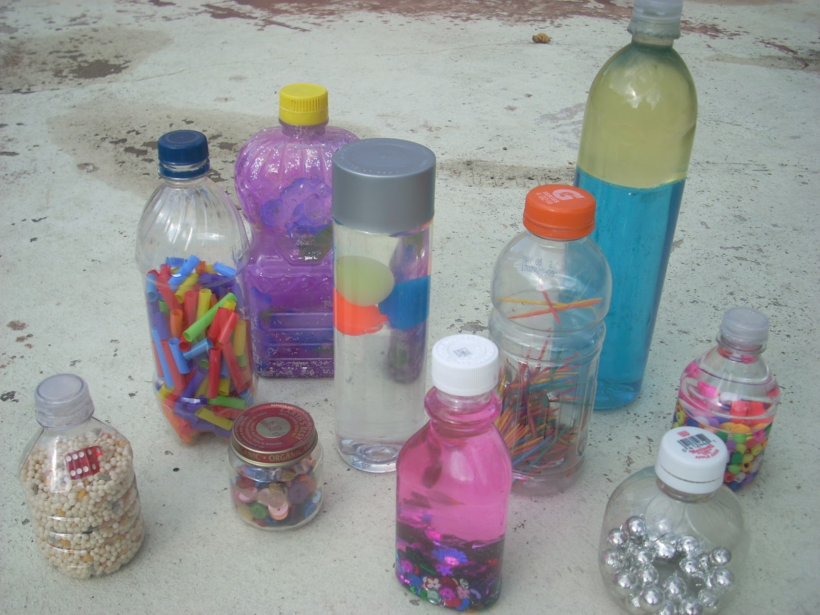 Interesting Bottles Post Apocalyptic Homeschool Sensory And Discovery Bottles For