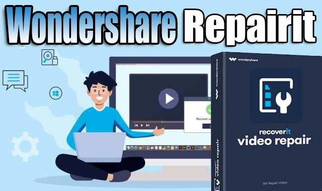تحميل وتفعيل برنامج Wondershare Repairit عملاق إصلاح مقاطع الفيديو التالفة اخر اصدار