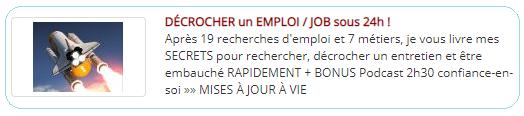 un emploi ou un job en 24h