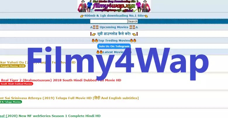 Filmy4Wap 2020 – Download HD Bollywood, Hollywood & Hindi Dubbed Movies Online