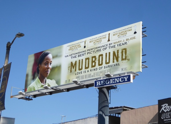 Mary J Blige Mudbound nominee billboard