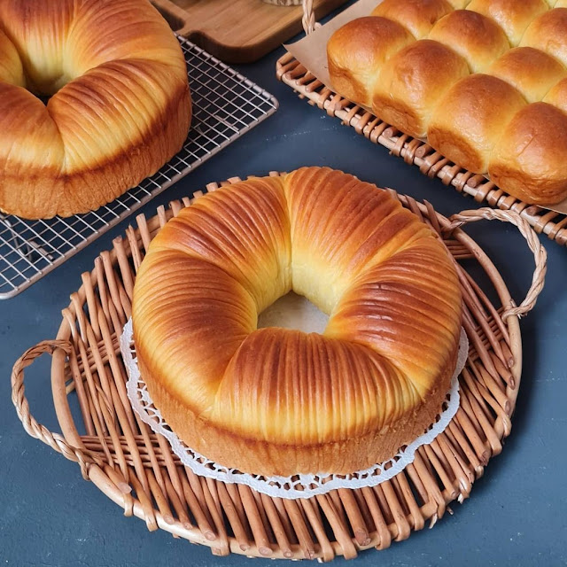 Wool Roll Bread Tanpa Butter