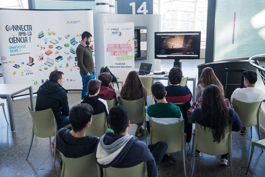 Más de 20 estudiantes participan en los talleres científicos del Museu de les Ciències impartidos por profesores de la Universitat Jaume I