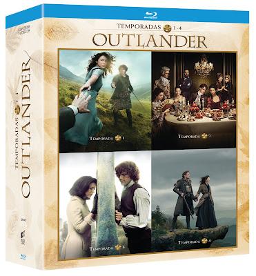 estreno pack outlander serie completa bluray