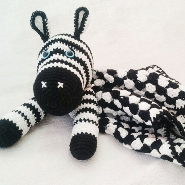 How To Crochet A Cute Toy Zebra - DIY Crafts Tutorial ... | 600x600