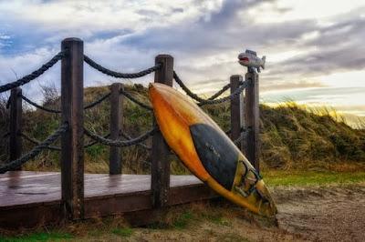 Du filet de pêche à la planche de surf, il n'y a qu'un pas !