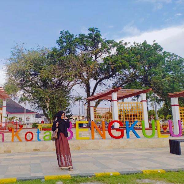 Pesona Taman Kota Bengkulu, dari Seblak Terenak Hingga Spot Foto Kekinian