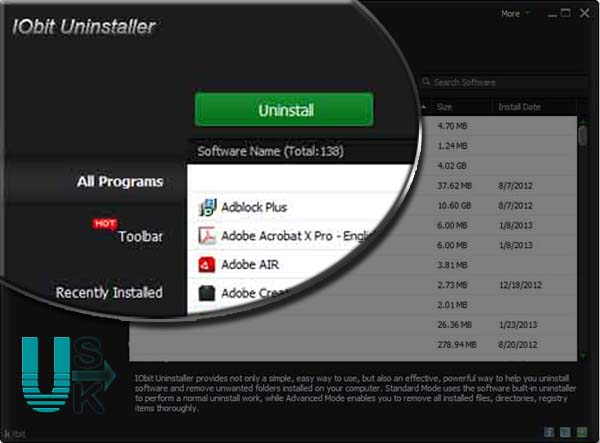 IObit Uninstaller Pro 2019 Full Version Free Download For PC