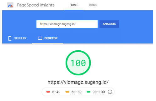 page Speed Template Viomagz V2.2