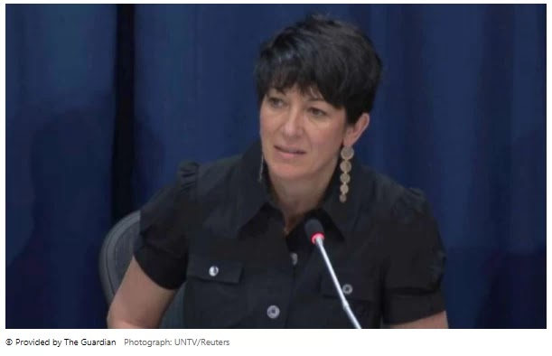 Submission of Ghislaine Maxwell after the court decision is unarmed
