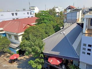 view sân thượng căn hộ dịch vụ cư xá đài ra đa