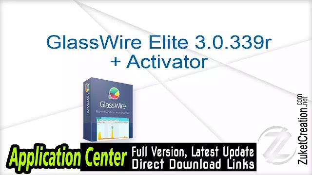 GlassWire Elite 2.1.157 + Activator       35 MB