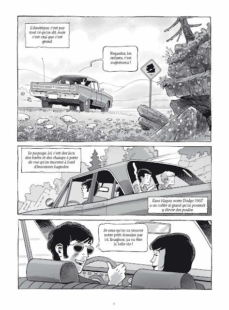 Graines de bandits de Yvon Roy aux éditions Rue de Sèvres page 5