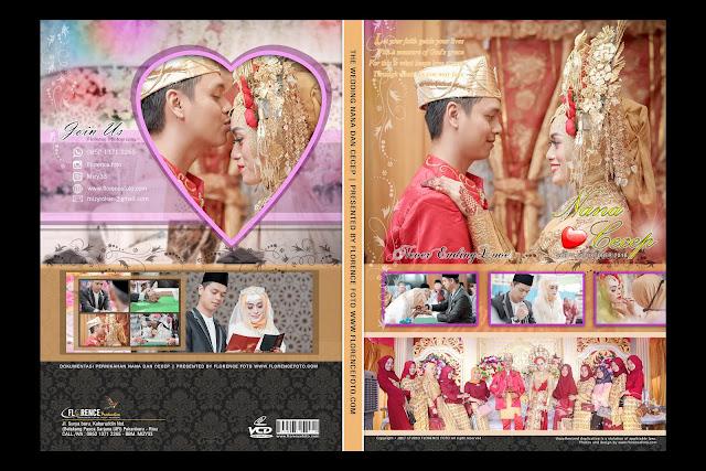 Contoh Cover VCD Untuk Wedding