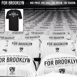 NBA 2K14 Brooklyn Nets Playoffs Crowd Mod : T-Shirt