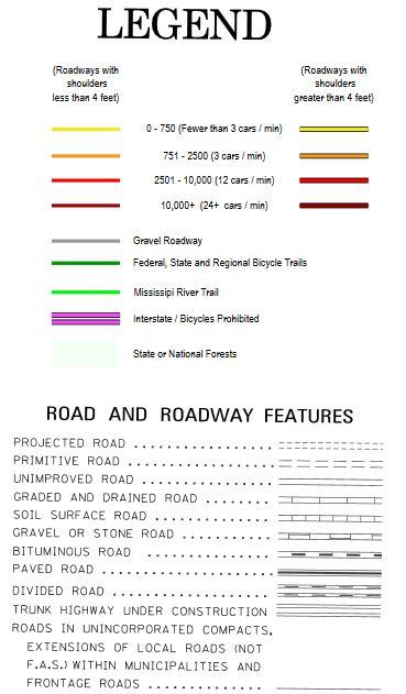 Min Dot Traffic Map.Mn Bike Trail Navigator Mn Dot Releases County Level Bicycle Maps