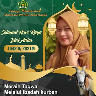 Twibbon Idhul Adha 2021 Guru Madrasah Lengkap Seluruh Provinsi Indonesia