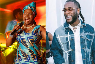 Burna Boy was cheated Reactions Sparks After Burna Boy Loses To Angelique Kidjo